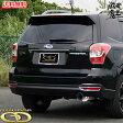 ■GANADOR ガナドールマフラー チタンテール マフラー SJ5 フォレスター NA チタンテール FORESTER CONVERT Rouge EVO DBA-SJ5 右シングル出しサークル