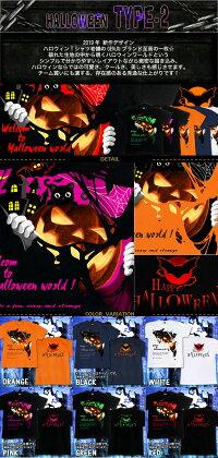 GENJUハロウィンTシャツメンズキッズハロウィンTシャツHALLOWEENハロウィンtシャツコスプレ衣装スポーツジム子供かぼちゃ猫こうもりパーティイベント半袖長袖ブランドtシャツロンTFestival黒白大きめサイズありXXL2L3L4L90-140cmXS-XXXL