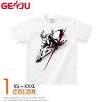 【GENJU】[半袖/ロンT切替可]デザインTシャツ★ThePower[パワフル]