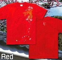 【GENJUブランド】和柄鳳凰メンズレディースTシャツロングTシャツ長袖/半袖ほうおう翼花見桜吹雪XS/S/M/L/XL/XXL/XXXL2L/3L/4L大きめサイズありサイズ鳳桜