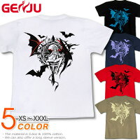 悪魔|サキュバス|セクシー|ロック系|ラインストーン|Tシャツ|GENJU