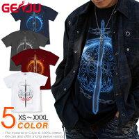 剣 ソード 武器 Tシャツ GENJU
