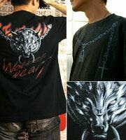 狼|ウルフ|アクセサリー|ハード|Tシャツ|GENJU