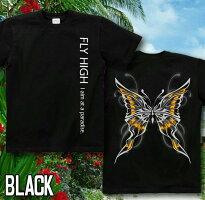 蝶|バタフライ|Tシャツ|GENJU