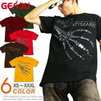スカル|骸骨|ロック|Tシャツ|GENJU