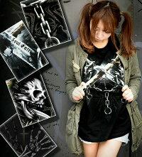 スカル|髑髏|骸骨|ロック系|Tシャツ|GENJU