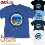 クマノミ ニモ 水族館 夏 海 魚 Tシャツ