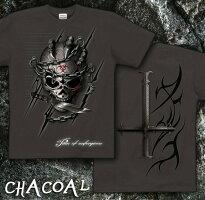 スカル|髑髏|骸骨|メタル|ロック|人気|Tシャツ|GENJU