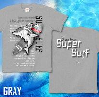 鮫サーフィンTシャツサーフボードサメコミカル海波夏メンズレディース可愛い長袖/半袖ロンTありXS/S/M/L/XL/XXL/XXXL3L/4LGreatSummerアメカジシャークグラフィティサイズ大きめサイズあり