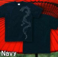 龍 和柄 トライバル 刺青 Tシャツ GENJU