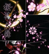 Tシャツ和柄桜花見月さくら日本刀半袖長袖サクラ夜桜月見ティーシャツ花吹雪アメカジ美麗サイズ豊富和柄お土産スポーツジムグラフィティ月之太刀