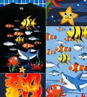 Tシャツ激熱パチンコ海物語魚群半袖長袖夏魚タコティーシャツストリートアメカジサイズ豊富グラフィティAQUAPARADICE