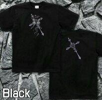 十字架|クロス|蝶|Tシャツ|GENJU