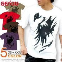 カラス|トライバル|Tシャツ|GENJU