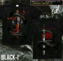 スカル 骸骨 ドクロ ロック系 Tシャツ GENJU
