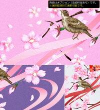 桜Tシャツ花見和柄イベントスポーツジム半袖長袖雲雀美麗扇子飲み会ティーシャツアメカジサイズ豊富舞桜