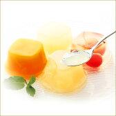 【銀座ゼリーA】銀座千疋屋が厳選した果汁を使用した上品な甘みのフルーツゼリー【パティスリー銀座千疋屋】