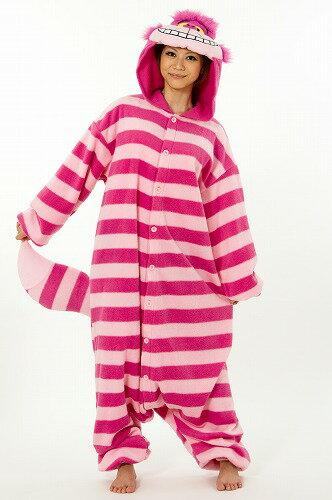 bce93e9fb707c9 ハロウィン コスプレ 仮装 着ぐるみ ディズニー パジャマ 大人用 フリース 不思議の国のアリス チシャネコ 衣装