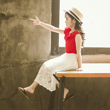 送料無料 子供服 韓国風 ボトムス キッズ レース 花刺繍 スカート 姫系 女の子 ホワイト 可愛いい オシャレ レディーススカート 発表会 110 120 130 140 150 160  P000100200025