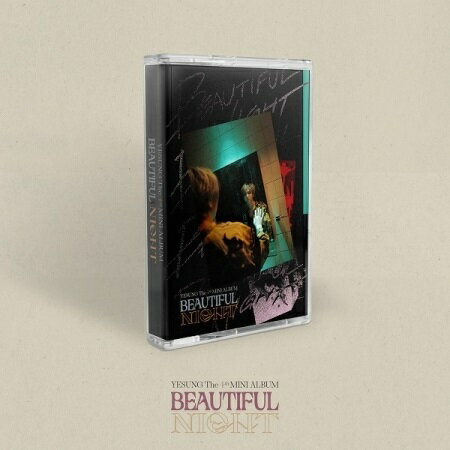CD, 韓国(K-POP)・アジア CASSETTE TAPE VERYESUNG Beautiful Night THE 4th MINI ALBUM 4 5