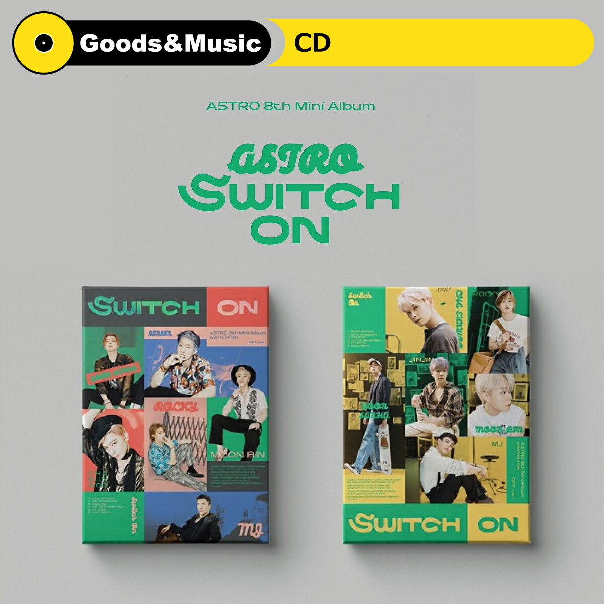 CD, 韓国(K-POP)・アジア 2ASTRO SWITCH ON 8TH MINI ALBUM 8 2