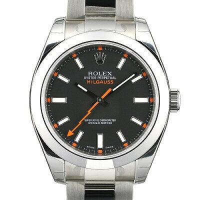 【ROLEX】ロレックス ミルガウス Ref.116400ロレックス ミルガウス Ref.116400 BK ROLEX MILGAU...