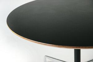 ■送料無料■新品■イームズコントラクトベース丸テーブルアルミナムテーブルラウンドテーブル■ブラック■ectr10-70l-bk