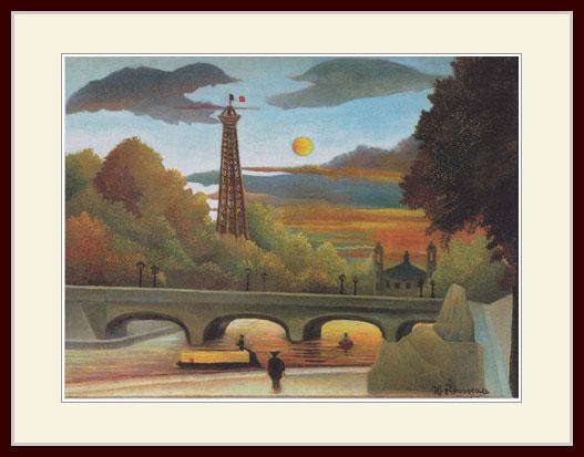 絵画, その他 Henri Rousseau