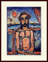 ルオー・「辱しめを受けるキリスト」