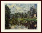 セザンヌ・「マルヌ川の橋」