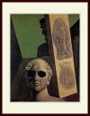 キリコ・「ギヨーム・アポリネールの肖像」