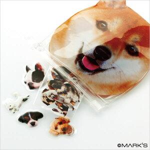 【3,150円以上で送料無料】かわいいイヌの中からいろんなフレークステッカーがいっぱい出てくる...
