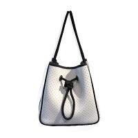 【新ブランド&MARKS】ネオプレンバケツバッグ巾着バッグ日本製アクティブバッグマザーズバッグ手洗い可能ハンドバッグショルダーバッグ2WAY