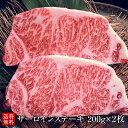 黒毛和牛メス牛サーロインステーキ 200g×2枚 A4/A5等級 ギフト ステーキの王道 送料無料