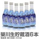 (福島県)300ml 6本入 栄川生貯蔵酒 ギフト用箱付 常温発送 会津榮川酒造の日本酒