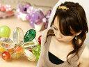 【天然石カチューシャ】澪<MIO>[結婚式 パーティ 天然石 ビーズ 髪飾り 花 和装 和服 着物 浴衣 ヘッドアクセ ヘアアクセサリー カチューシャ]