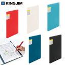 キングジム<KING JIM> スキットマン 取扱説明書ファイル用ポケット(30穴)2段 2630PA 【RCP】