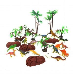 送料無料ミニチュア動物恐竜てんこ盛りセットAO-012ジオラマ動物園お魚フィギュアあす楽宅配便のみ