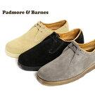 PADMORE&BARNESパドモアアンドバーンズP500プレーントゥシューズスウェードOriginalSportsShoe