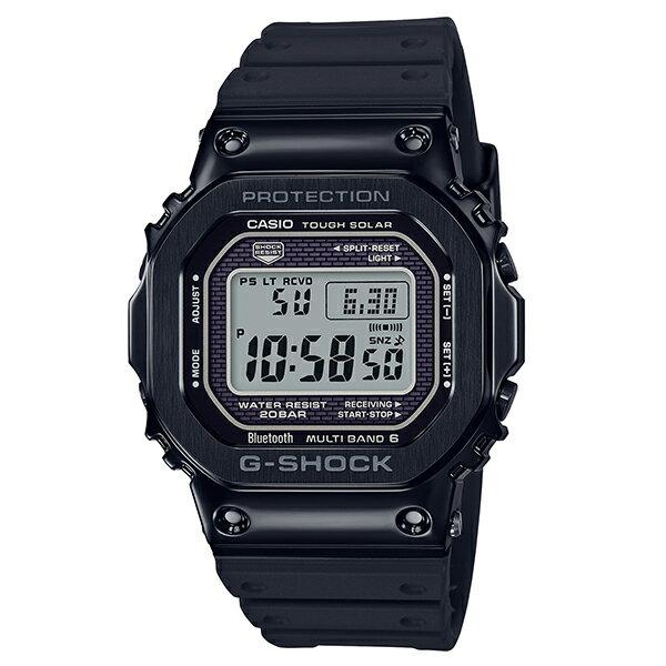 カシオ 腕時計 正規 Gショック CASIO G-SHOCK ジーショック 時計 メンズ ウオッチ メタルケース×ソフトウレタンバンド ブラック Bluetooth® 電波ソーラー ウォッチ GMW-B5000G-1JF 国内正規品【P05】【新生活 プレゼント ギフト】