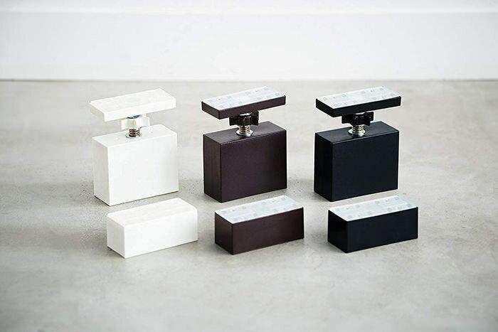 平安伸銅工業LABRICOSTAPLERFIXシリーズ2×4アジャスターマットブラックDXC-1