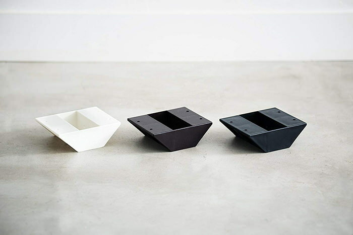 平安伸銅工業LABRICOSTAPLERFIXシリーズ2×4棚受ダブルマットブラックDXC-3