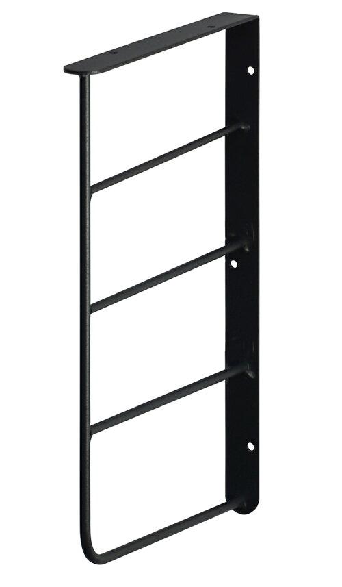【公式】平安伸銅工業LABRICOラブリコWeekendWorkshopシェルフフレームミニL型1×6木材・パイン材用石膏ボードピンまたはネジで取付黒WFK-26
