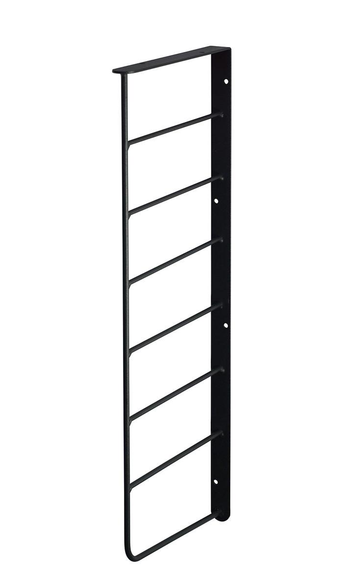 【公式】 平安伸銅工業 LABRICO ラブリコ Weekend Workshop シェルフフレーム L型 1×6木材・パイン材用 石膏ボードピンまたはネジで取付 黒 [一本入り] WFK-36