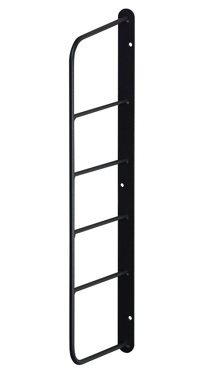 【公式】LABRICO ラブリコ シェルフフレーム ミニ[一個入り] 1×4木材・パイン材用 石膏ボードピンまたはネジで取付 黒 WFK-44
