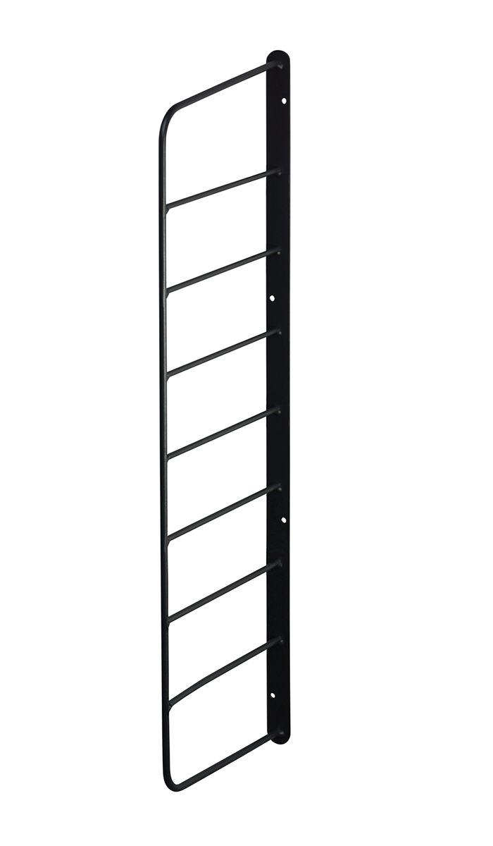 【公式】LABRICO ラブリコ シェルフフレーム[一個入り] 1×6木材・パイン材用 石膏ボードピンまたはネジで取付 黒 WFK-56