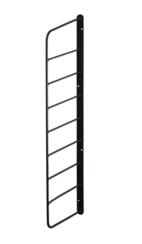 【公式】平安伸銅工業LABRICOラブリコシェルフフレーム1×6木材・パイン材用石膏ボードピンまたはネジで取付黒WFK-56