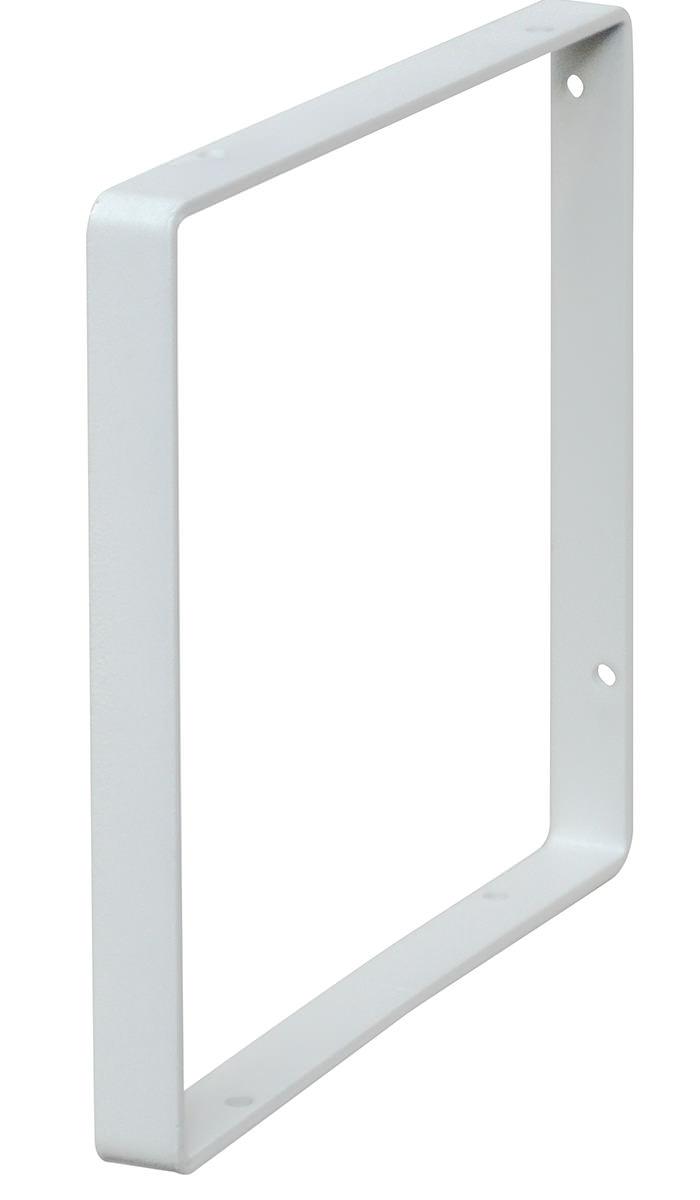 【公式】LABRICO ラブリコ シェルフフレーム スクエア[一個入り] 1×6木材・パイン材用 石膏ボードピンまたはネジで取付 白 WFW-16