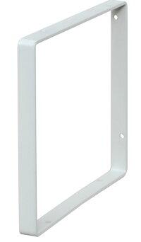 【公式】平安伸銅工業LABRICOラブリコWeekendWorkshopシェルフフレームスクエア1×6木材・パイン材用石膏ボードピンまたはネジで取付白WFW-16