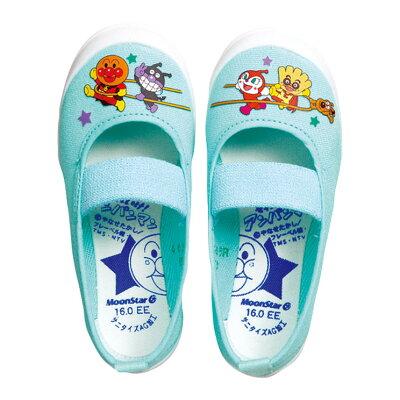 アンパンマンバレー02上履き上靴男の子女の子室内履きムーンスターキャラクター日本製バイキンマンドキンちゃん